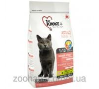 1st Choice (Фест Чойс) курица виталити (2,72 кг) сухой супер премиум корм для котов