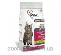 1st Choice (Фест Чойс) Sterilized (2,4 кг) сухой корм для кастриров котов и стерилизованных кошек