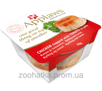 Applaws Cat Layers Chicken with Tomato in Jelly (70 г) Эпплоус Кэт Лэйер Курица с томатами в желе для кошек