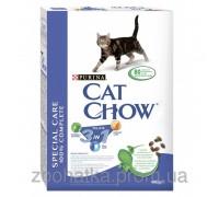 Cat Chow (Кет Чоу) Feline 3in1 Корм для кошек Тройная защита Вашего питомца 400 г