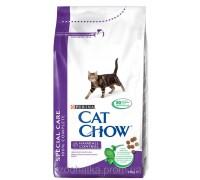 Cat Chow (Кет Чоу) Hairball Control Корм для контроля образования комков шерсти 1,5 кг