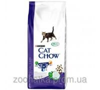 Cat Chow (Кет Чоу) Feline 3in1 Корм для кошек Тройная защита Вашего питомца 15 кг