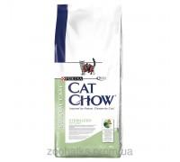 Cat Chow (Кет Чоу) Sterilized Корм для стерилизованных кошек 15 кг