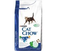 Cat Chow (Кет Чоу) Feline 3in1 Корм для кошек Тройная защита Вашего питомца 1,5 кг