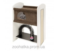 Ferplast (Ферпласт) Leo Мебель для кошек домик с игоровой зоной и когтеточкой