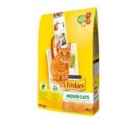Friskies (Фрискас) Indoor корм для кошек с курицей овощами и садовой травой 10 кг