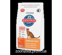 Hills Science Plan Feline Adult Optimal Care™ Ягненок (5 кг)