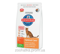 Hills Science Plan Feline Adult Optimal Care™ Кролик (10 кг)