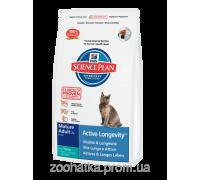 Hills SP Feline Mature Adult 7+ Active Longevity™ с Тунцом (2 кг) для кошек старше 7 лет