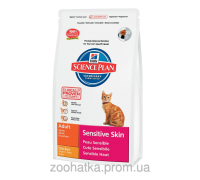 Hills SP Feline Adult Sensitive Skin Курица (5 кг)