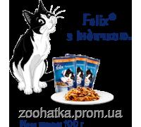 Felix Fantastic (Феликс) влажный корм для кошек индейка в желе
