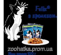 Felix Fantastic (Феликс) влажный корм для кошек кролик в желе
