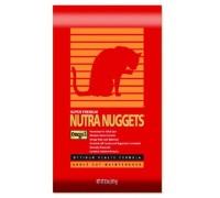Nutra Nuggets (Нутра Наггетс) Hairball Control Formula (10кг) сухой корм для активных кошек (красная