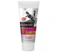 Nutri-Vet Pet-Ease антистресс гель с ароматом лосося - успокаивающая добавка для котов