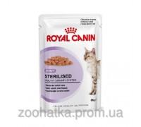 Royal Canin FHN Wet Sterilised (85 г) влажный корм для стерилизованных кошек старше 1 года кусочки в соусе
