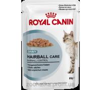 Royal Canin FHN Wet Hairball care (85 г) влажный корм для кошек препятствует образованию волосяных комочков