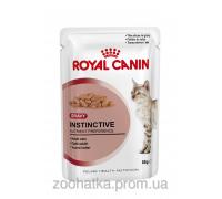 Royal Canin Instinctive in gravy (85 г) консервированный корм для кошек старше 1 года кусочки в соусе