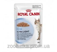 Royal Canin (Роял Канин) Ultra Light (85 г) консервированный корм для кошек склонных к полноте
