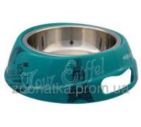 Trixie (Трикси) Bowl Combo Paris Миска из нержавеющей стали для собак и котов 150 мл