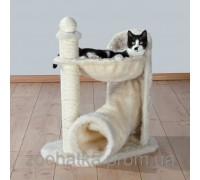 Trixie Gandia Когтеточка с гамаком и игровым туннелем для кошек Трикси Гандиа