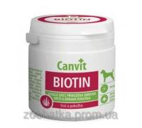 Canvit Biotin Канвит Биотин здоровье кожи и блестящая шерсть у собак на каждый день 100 г