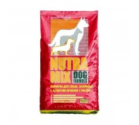 Nutra Mix (Нутра Микс) Dog Lamb&Rice (22,7 кг) Ягненок и рис корм для собак гипоалергенный (красная)