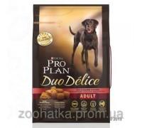 Pro Plan (Про План) Dog Duo Delice Корм для собак всех пород с курицей и рисом 2,5 кг