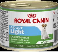 Royal Canin (Роял канин) Adult Light - влажный корм для собак, предрасположенных к полноте