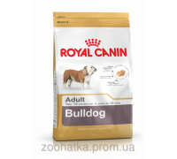 Royal Canin (Роял канин) Bulldog Adult (12 кг) корм для собак породы бульдог cтарше 12 месяцев