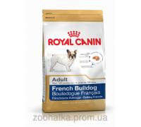 Royal Canin (Роял канин) French Bulldog Adult (3 кг) корм для собак породы Французский бульдог старше 12 мес