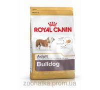 Royal Canin (Роял канин) Bulldog Adult (3 кг) корм для собак породы бульдог cтарше 12 месяцев