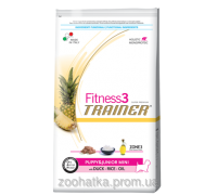 Trainer Fitness3 (Трейнер Фитнес) Puppy & Junior Mini полноценное питание для щенков мелких пород 2 кг