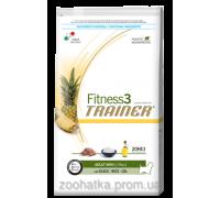 Trainer Fitness3 (Трейнер Фитнес) Adult Mini With Duck Rice Oil корм для взрослых собак мелких пород 2 кг