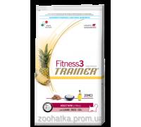 Trainer Fitness3 (Трейнер Фитнес) Adult Mini With Lamb Rice Oil корм для взрослых собак мелких пород 7,5 кг