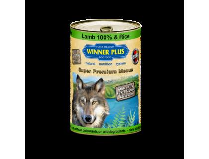 Winner Plus (Виннер Плюс) консервы для собак с ягнёнком и рисом 800 г