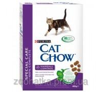 Cat Chow (Кет Чоу) Hairball Control Корм для контроля образования комков шерсти 400 г