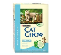 Cat Chow (Кет Чоу) Kitten Корм для котят с курицей 400 г