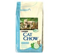 Cat Chow (Кет Чоу) Kitten Корм для котят с курицей 15 кг