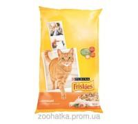 Friskies (Фрискас) Adult корм для кошек с курицей и овощами 10 кг