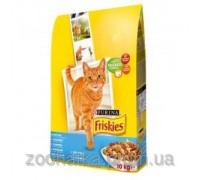 Friskies (Фрискас) Adult корм для кошек с лососем 10 кг