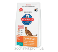 Hills Science Plan Feline Adult Optimal Care™ Тунец (10 кг)