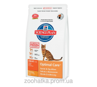 Hills Science Plan Feline Adult Optimal Care™ Курица (15 кг)