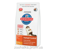 Hills SP Feline Adult Hairball Control Курица (5 кг)