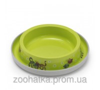 Moderna (Модерна) Trendy Dinner cat FF fun green миска для кошек 210 мл