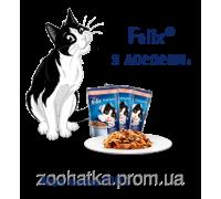 Felix Fantastic (Феликс) влажный корм для кошек лосось в желе