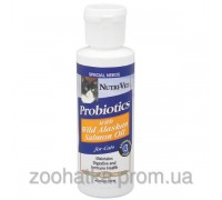 Nutri-Vet Probiotics Salmon Oil (118 мл) пробиотики с маслом лосося для котов