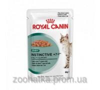 Royal Canin (Роял канин) Instinctive +7 Wet (85 г) консервы для кошек старше 7 лет