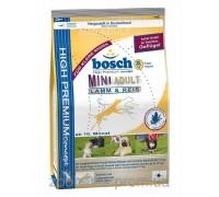 Bosch (Бош) Adult Mini Lamb & Rice (3 кг) корм для собак малых пород с Ягненком и Рисом