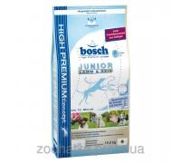 Bosch (Бош) Junior Lamb & Rice (15 кг) корм для щенков всех пород с ягненком и рисом от 2 до 12 месяцев