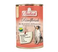 Bubeck (Бубек) Rindfleisch консервы для собак говядина, картофель, морковь-каротель, отруби (400 г)